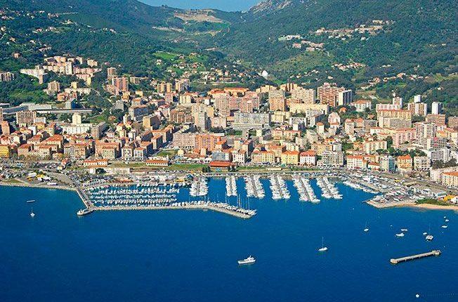 Ajaccio Corsica Island