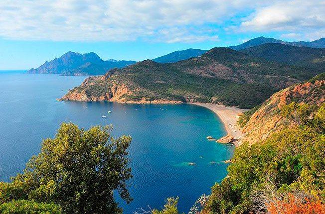 Beach Corsica Mediterranean
