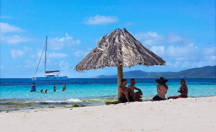 Beach Grenadine Islands