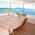 Catamaran Dream 60 Dinning Room