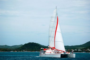Catamaran Dream 82 Sailing