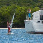 Windsurfing Catamaran Lagoon 450