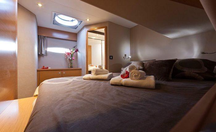 Catamaran Sanya 57 Interior Cabin