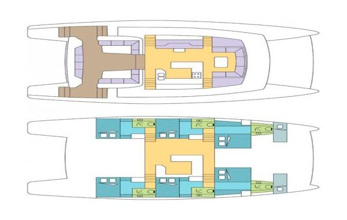 Deck Plan Dream 60
