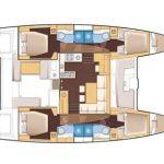 Deck Plan Lagoon 450