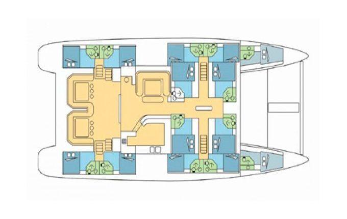 Deck Plan Mojito 82
