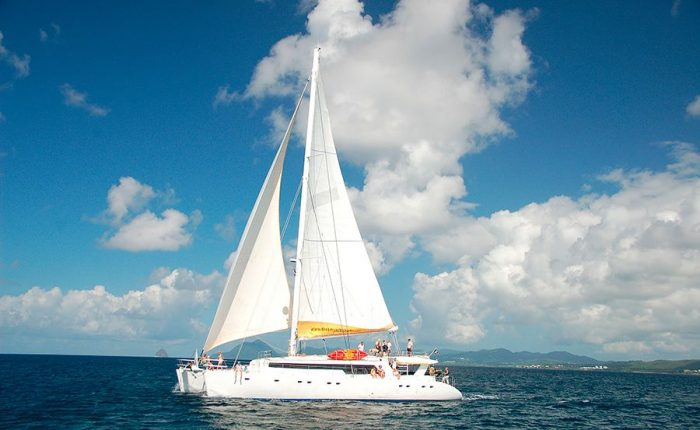 Exterior Catamaran Mojito 82