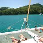 Family On Board Catamaran Mojito 82
