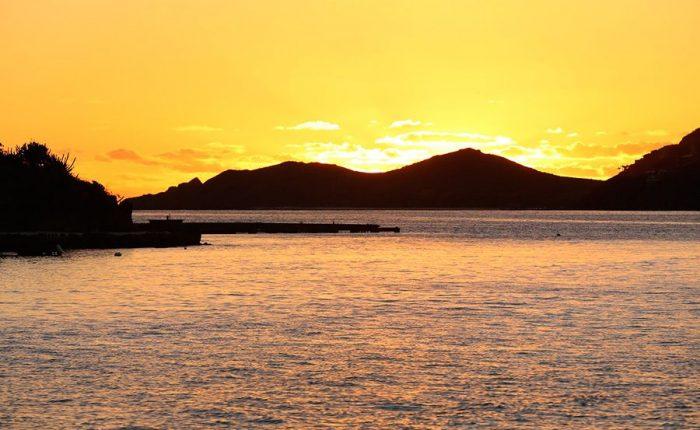 Sunset In British Virgin Islands