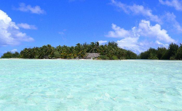 Tahiti Islands Blue Turquoise Sea