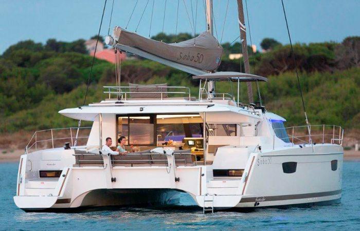 Sail Catamaran Saba 50
